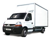 Les différents véhicules proposés dans la gamme utilitaire Renault